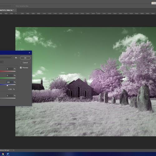 Fotografia ad infrarosso - Tutorial di Jaz