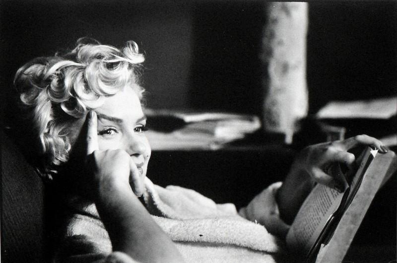 Elliott Erwitt ha avuto modo di incontrare e fotografare Marilyn Monroe in più  occasioni.