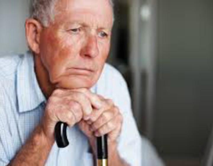 La senilità in uno scatto